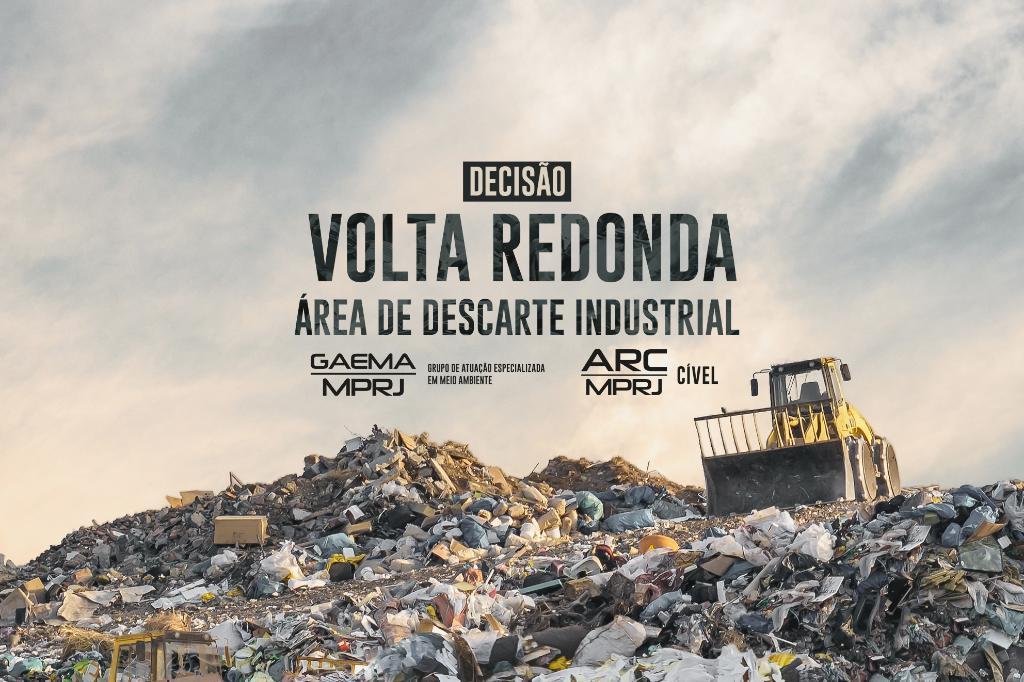 MPRJ obtém decisão que limita descarte industrial em Volta Redonda