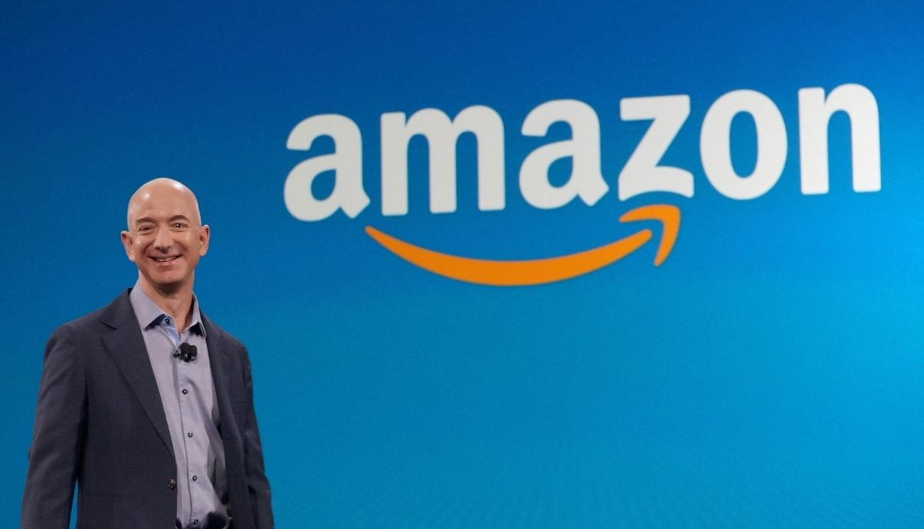 Dono da Amazon fica US$ 13 bilhões mais rico em apenas um dia