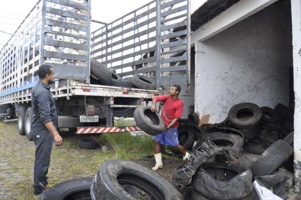 Barra Mansa: Cerca de cinco mil pneus já foram destinados para reciclagem em 2020