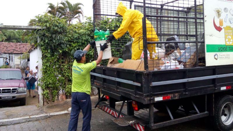Saae Barra Mansa implanta coleta seletiva no bairro Vista Alegre