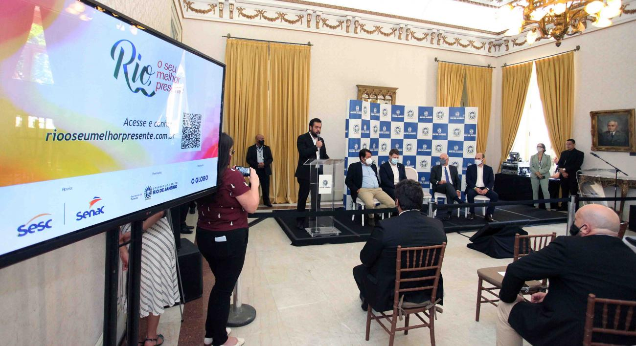 Governo lança plataforma digital para a retomada do turismo fluminense