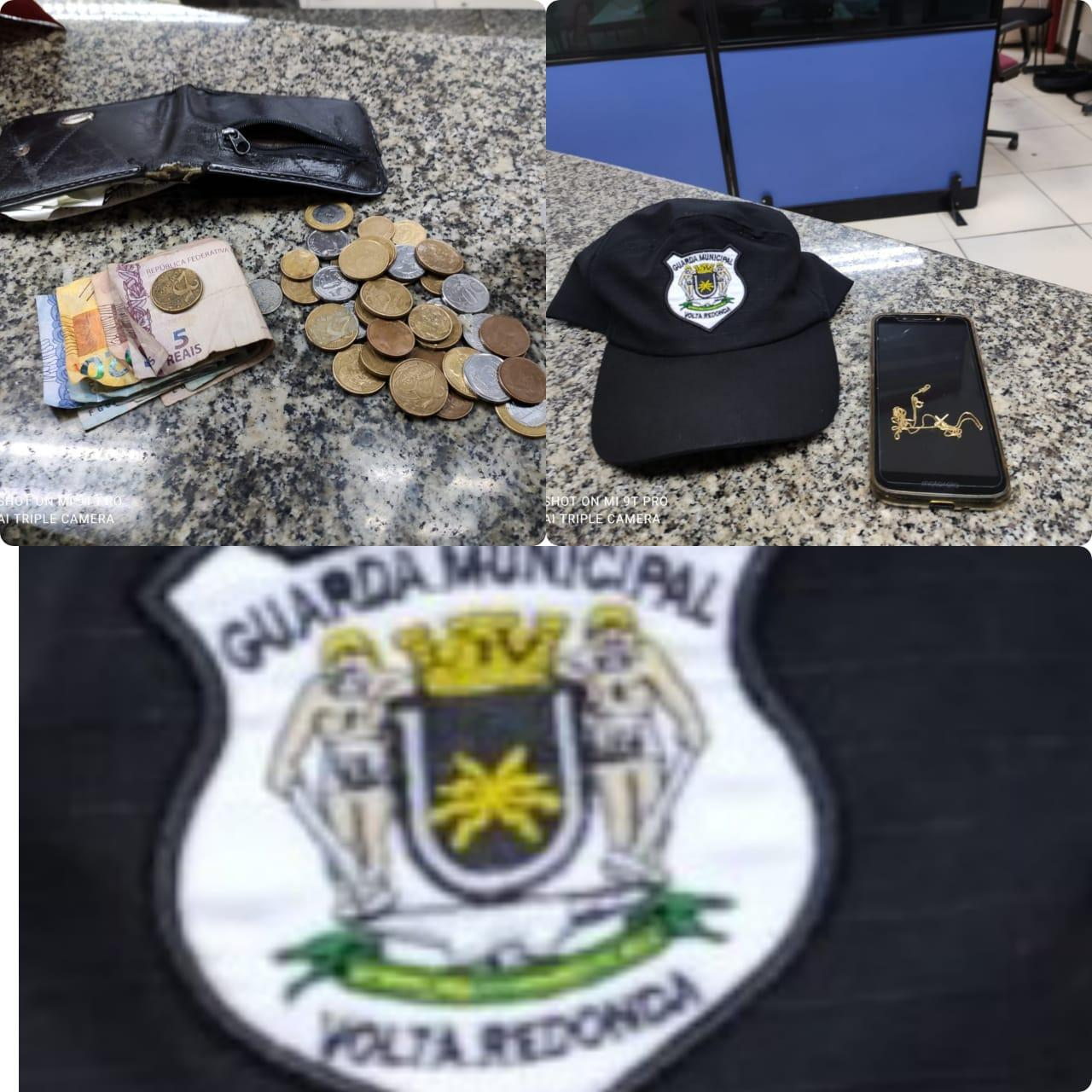 Guarda Municipal faz prisão em flagrante de suspeito de praticar assaltos em Volta Redonda