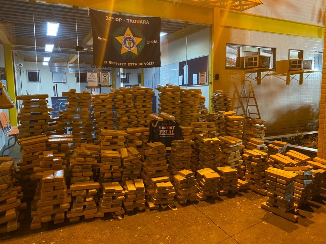 Polícia Civil apreende duas toneladas de maconha em Itatiaia