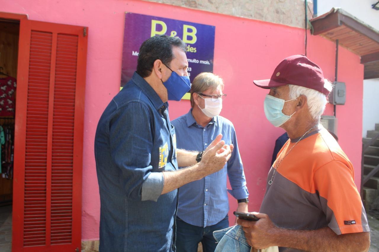 Em visita a Maromba, Irineu Nogueira propõe consórcio intermunicipal para criação de unidade de saúde 24 horas