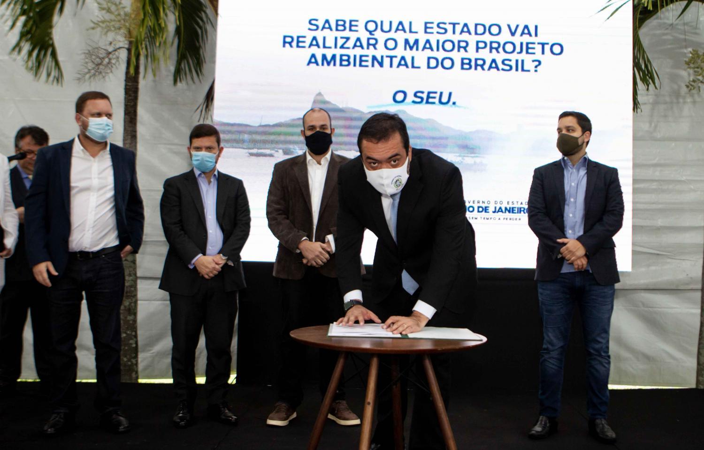 Governo do Estado e Iguá assinam contrato de concessão de saneamento