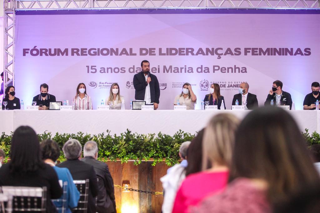 Governo Presente: evento marca os 15 anos da Lei Maria da Penha