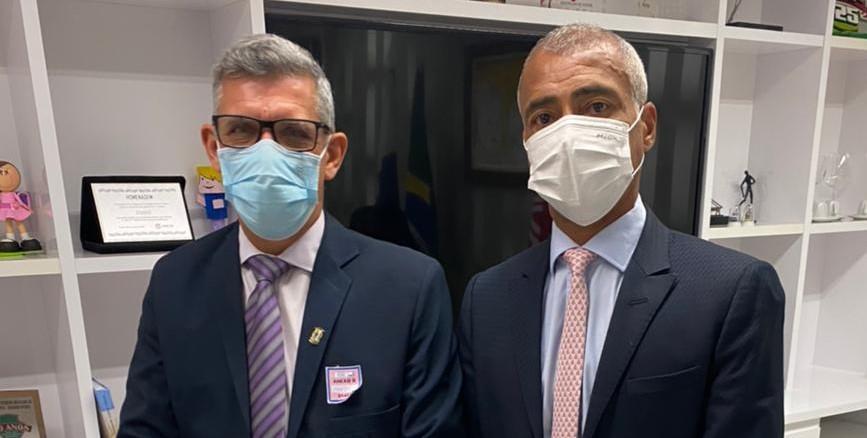 Paulo da Gráfica visita senador e deputados em Brasília em busca de investimentos