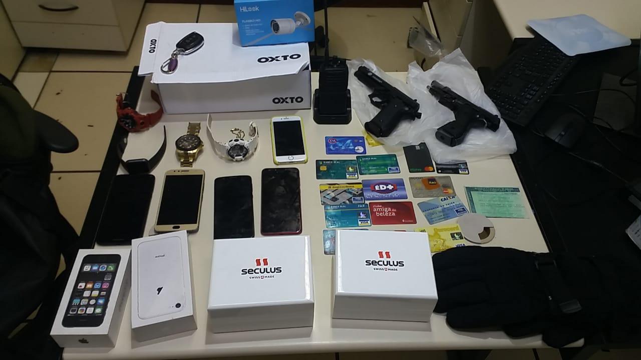 Polícia Civil prende casal que roubou casa lotérica em Barra do Piraí